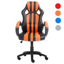 High Back Raceing Car Style Bucket Seat Office Desk Chair Gaming Chair New