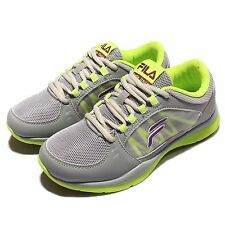 Fila J910P Grey Green Purple Womens Running Trainers Sneakers Shoes 5-J910P-499