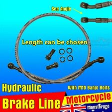 1500/1700/1800/2100mm Hydraulic Brake Line Hose Cable Motorbike  ATV Quad Buggy