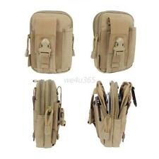 Camping Hiking Bag Outdoor Tactical Molle Waist Pack Fanny Phone Pouch Belt Bag