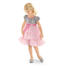 American Girl CL BITTY BABY TWIRLY TIERED DRESS SIZE 6X L for Little Girls NEW