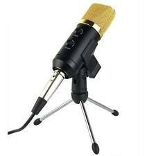 USB Audio Condenser Microphone Mic Studio Sound Recording with Stand MK-F100TL