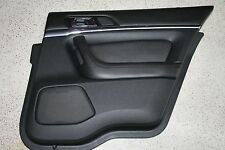 09 10 11 12 LINCOLN MKS- Rear Door Interior Trim Panel, Right Pass, Black FW