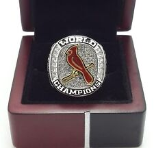 2011 St Louis Cardinals World Series Championship Ring High Quality Back Solid