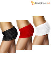 Ladies Ruffle Frilly Panties Adults Burlesque Knickers Fancy Dress Accessory Hen