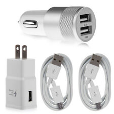 Wall Charger USB Cable Car Charger For Samsung Galaxy S7 Edge S6 Edge+ Note 4 5