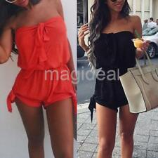 Sexy Ladies Women Cocktail Evening Party Sleeveless Jumpsuit Romper Shorts
