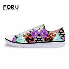 Fashion Lady Womens Lace-up High Top Comfy Ankle Sneakers Casual Canvas Shoes