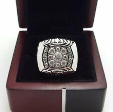 1972 Boston Bruins Stanley Cup Championship ring BOBBY ORR 8-14 Size Top Quality