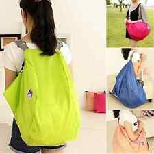 Folding Nylon Women Travel Luggage Bags Backpacks Travel Shoulder Bag Pouch CHI