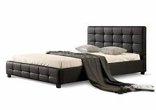 Brand New Luxurious Double/Queen size PU Leather Bed Frame in Black/White