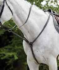 Kincade Raised Padded Fancy Stitch Breastplate With Martingale Attachment