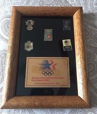 Game of the XXIIIrd Olympiad Los Angeles 1984 Commemorative Pin Set
