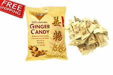 Ginger Candy Prince Of Peace 100% Natural Chews Individually Wrapped 4.4 oz 124g