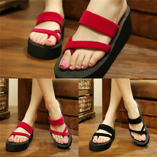 Fashion Strap Girl Women Fashion Sandals Beach EVA Flip Flops Slippers Shoes fa