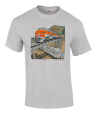 Western Pacific California Zephyr Authentic Railroad Train T-Shirt Tee Shirt [12
