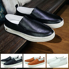 New Mens Shoes Driving Moccasin Loafer Casual Slip On Soft Leather Shoes Z120