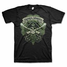 Dropkick Murphys Skull Cannon Men's Black T-Shirt SM, MD, LG, XL, XXL New