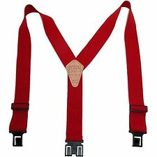 "Perry Suspender Mens 2"" Elastic Y-Shaped Original Adjustable Suspenders"