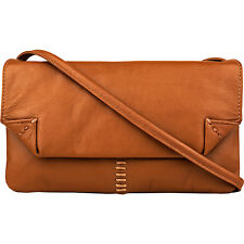 Hidesign Stitch Leather Handcrafted Cross Body 2 Colors Cross-Body Bag NEW