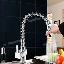 Pro Top Modern Pull Out Kitchen Taps Mixer Swivel Brushed Faucet MIXER TAPS