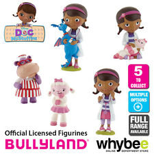 Official Bullyland Disney Doc McStuffins Figurines - Cake Topper Toy Figures