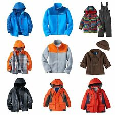 Infant Toddler Boy Winter Jacket Coat Columbia, Oshkosh, Carters, SKI BIB PUFFER