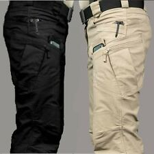Mens Outdoor Military City Tactical Pants Combat Trousers Hiking Camping Casual