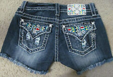 Miss Me Shorts New Boho Tribal SUN DAZED CUT-OFF SHORTS JW6364H