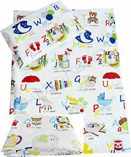 Cot/cot bed/ Toddler bedding pillowcase/ sheet/ curtains/ duvet cover Boys Girls