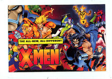 "1995 Marvel Comics Promo checklist Card ""X-MEN ALL NEW, ALL-DIFFERENT"" NM/M"