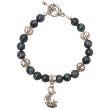 Healing Stones for You: Hawks Eye Celestial Bracelet - Releases Stress