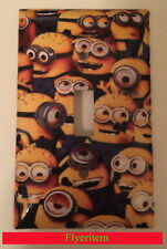 All Minions Light Switch Outlet Toggle Rocker Duplex Single Triple Plate Cover