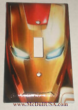 Iron Man Face  Switch & Duplex Outlet Cover Plate
