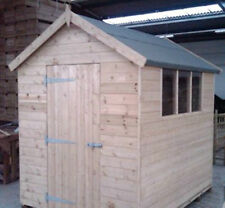 Garden Shed PRESSURE TREATED Apex/Pent FREE DELIVERY 50 MILE BOSTON LINCOLNSHIRE
