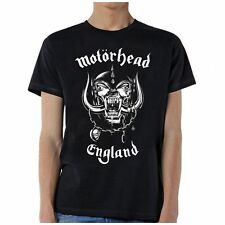 Motorhead England Front Only T-Shirt SM, MD, LG, XL, XXL New