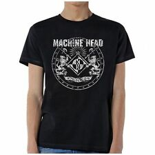 Machine Head Classic Crest T-Shirt SM, MD, LG, XL, XXL New