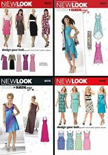 New Look Sewing Pattern Women's Misses' Formal Semi-Formal Dresses Cocktail 4-16