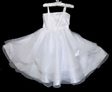 Tulle Formal Dresses Wedding Flower Girls Pageant  Party Size 18month -5T FG003