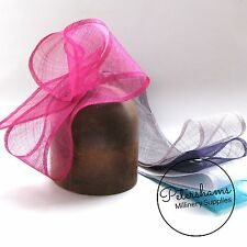 Wide Sinamay Sash Ribbon for Trimming Hats, Fascinators Millinery Supplies