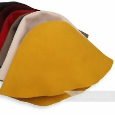 Thick 100% Wool Felt Cone Hood for Millinery Hat Making 10+ Colours!