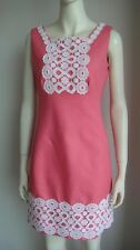 LAST1 ~ NEW Lilly Pulitzer Adelson Shift Jacquard Dress Pink 6 S/M