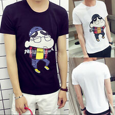 Fashion Mens Summer Casual Style Short Sleeve T-shirt Cosplay T-Shirts Tops Tee
