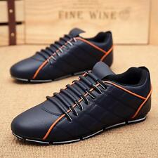 Stylish Men's Leisure Lace-up Dress Sneakers Casual Loafers Gommino Shoes #