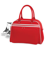 Bagbase Retro Bowling Bag BG75 Unisex Styling Holdall Gym Travel Stylish Handbag
