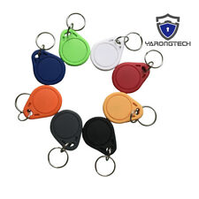 RFID key fobs 13.56MHz 14443A MIFARE Classic 1K ABS IC tags access control -100