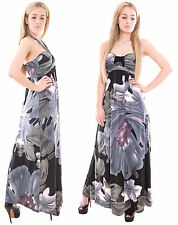 Ladies Summer Holiday Party Evening Maxi Dress Shoulder Free by MontyQ