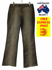 GENUINE DESIGNER Just Cavalli ladies womens GOLD SHIMMERY jeans RRP $399