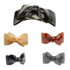 Fashion Women Girls Acrylic Big Bowknot Barrette Hairpin Hair Clips Hair Bow