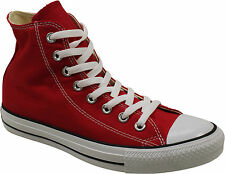 Converse Womens Chuck Taylor All Star HI Sneakers Red